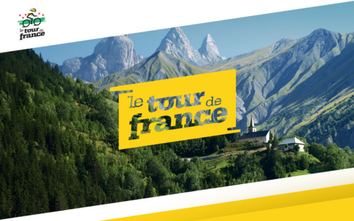 tour de france logo design