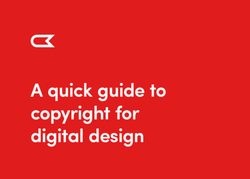 A quick guide to copyright in digital design