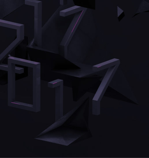 abstract isometric numbers detail inspiration design