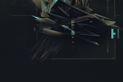 Abstract sharp spike space design