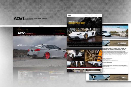 Aftermarket wheel company website design