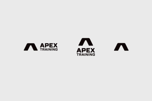 Apex Training logo design