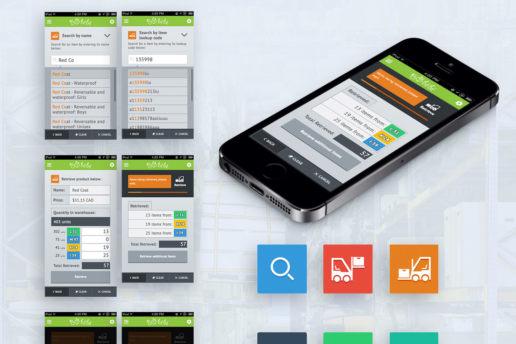 app store design ios flat