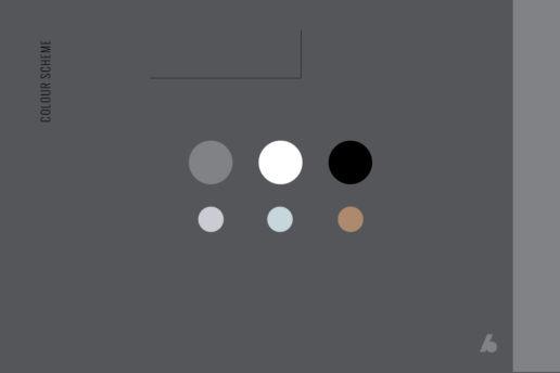 Architecture Website Design Colour Palette