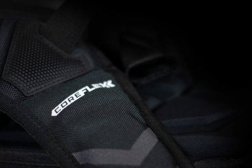 Back pack logo design coreflex detail