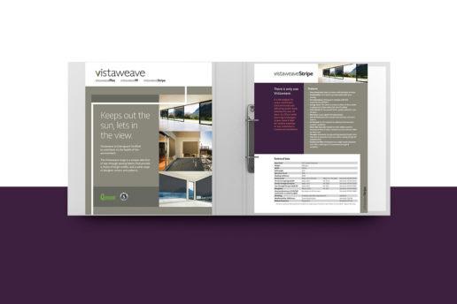 Print Binder Folder Inside Cover Design Graphic