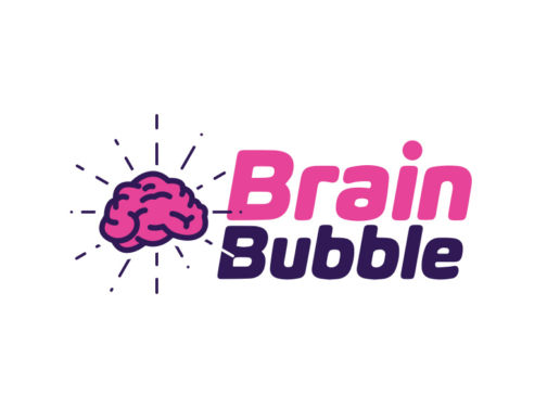 Brain Bubble Logo Design