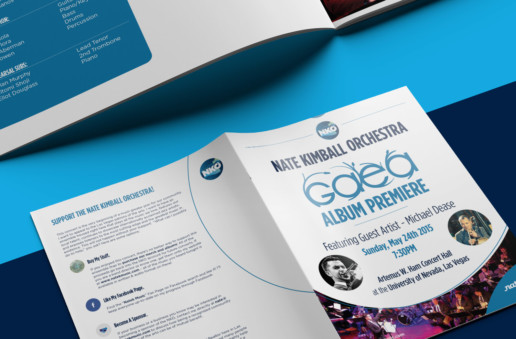 brochure design orchestra