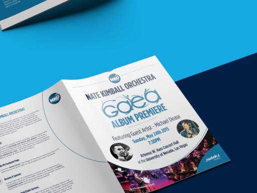 brochure design orchestra