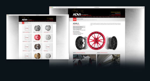 Website Design Car Wheel Rims Aftermarket