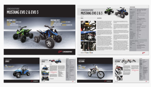Motorbike brochure design