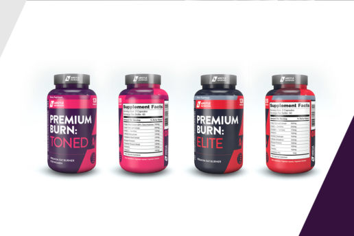 Custom Label Design Protein Nutrition Supplement Design