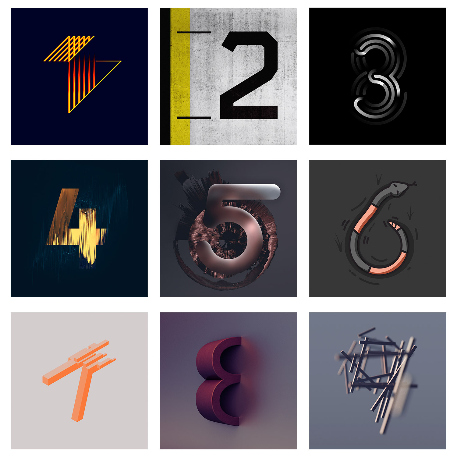 36daysoftype   Number A Day For 36 Days  U2013 Chris