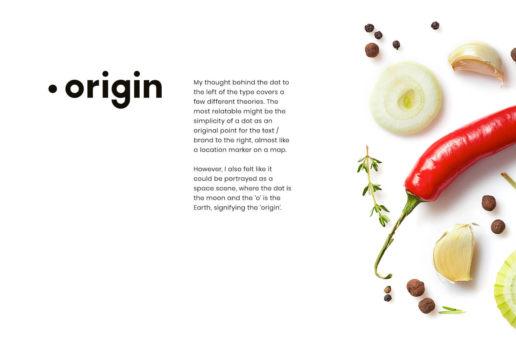 Custom logo design freelance melbourne food company