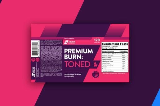 Custom premium label nutrition protein supplement design