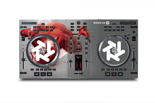 deck dj skin graphic design