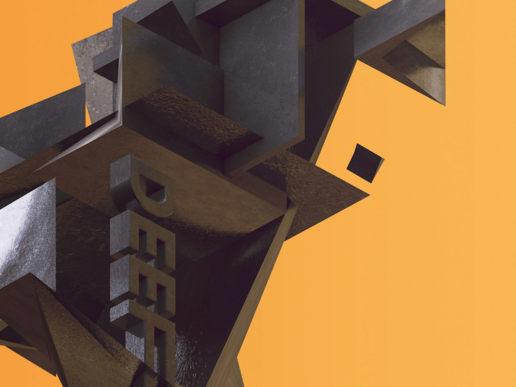 deep vibe ration digital abstract isometric 3d