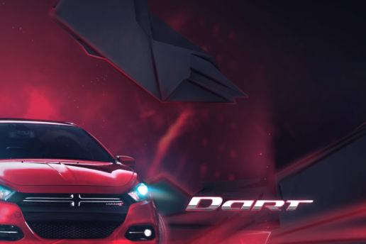 dodge dart graphic design