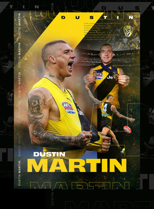 Dustin Martin Richmond Tigers Artwork