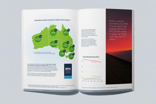 Energy partner Australia solar diagram infographic