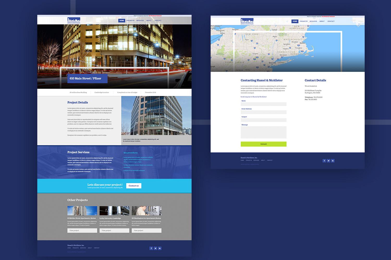 Hamel & McAlister - Website Design – Chris Koch – Freelance