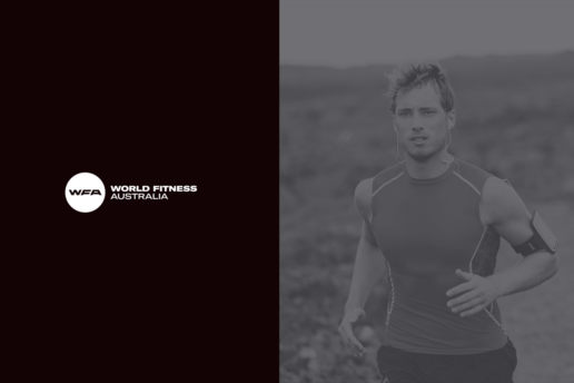 Fitness logo melbourne graphic designer freelance