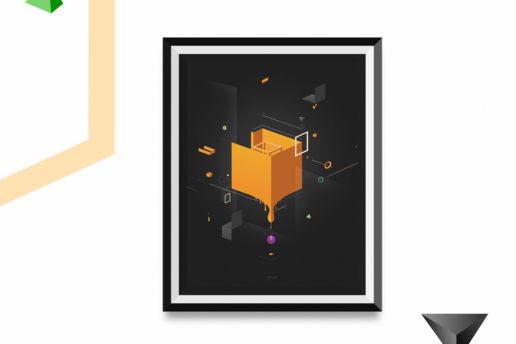 framesd isometric digital art design