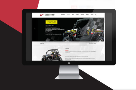 web design motorbike atv