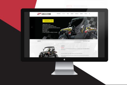 web design motorbike atv