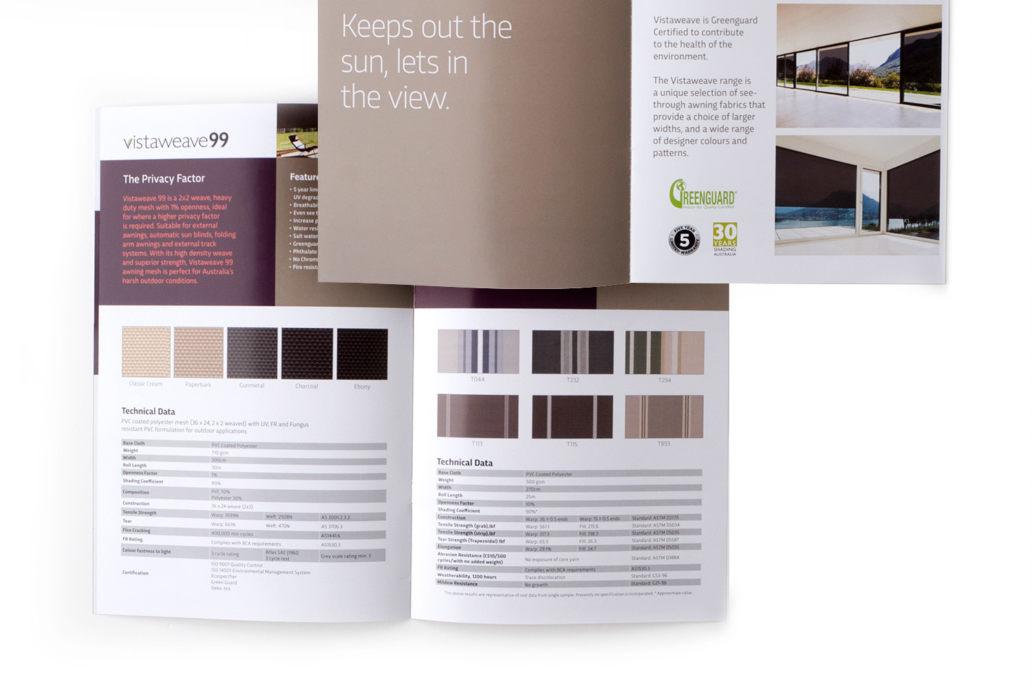 radins sample book brochure signage chris koch freelance