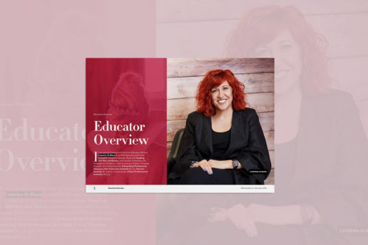 Hairdress brochure design A4