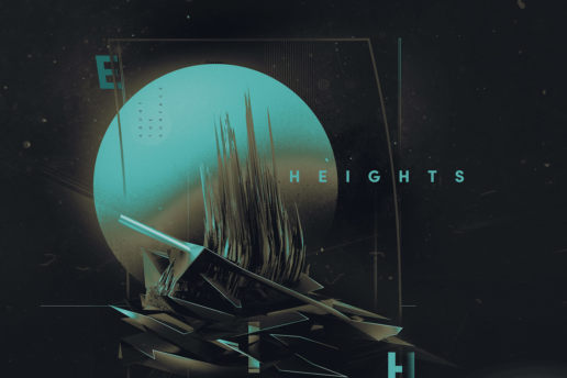 Heights Space Moon digital design