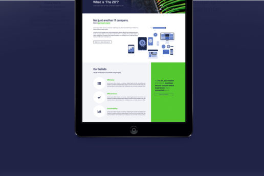 responsive website design it computers techology