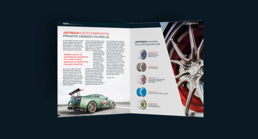 Jotech ADV.1 Wheels Brochure Print Design