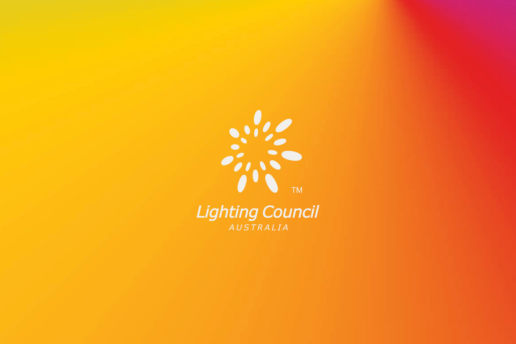 Lighting Australia gradient logo melbourne