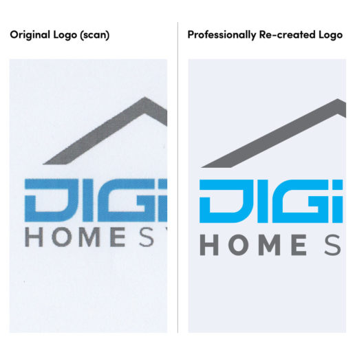 Logo Re-creation for Melbourne based company in vector format