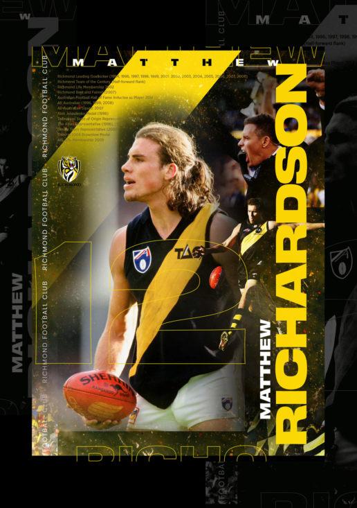 Matthew Richardson Richmond Tigers Artwork AFL