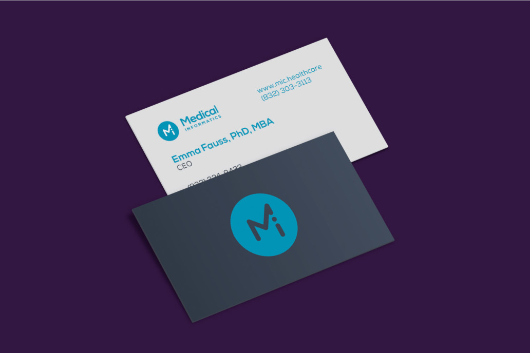 Medical Informatics Corp - Branding – Chris Koch – Freelance Graphic ...