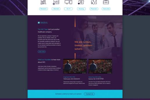 website design medical freelance design
