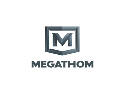 megathom-steel-protein-supplement-logo-design-fitness