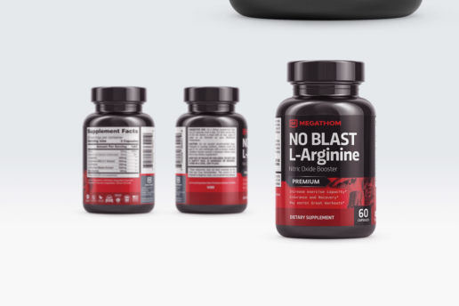Supplement label design freelance design
