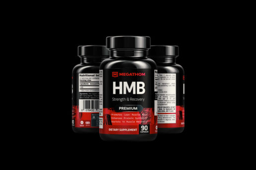Supplement label design custom product packaging