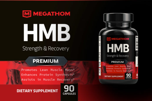 megathom-supplement-label-design-protein-strength-recovery-premium-fitness-gym