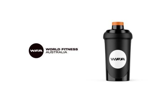 Melbourne fitness gym shaker logo design
