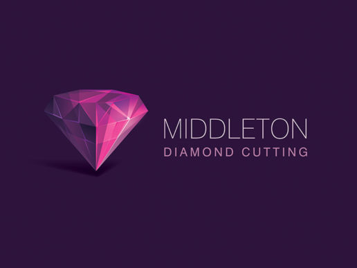 Middleton Diamond Cutting Pearl Crystal Logo