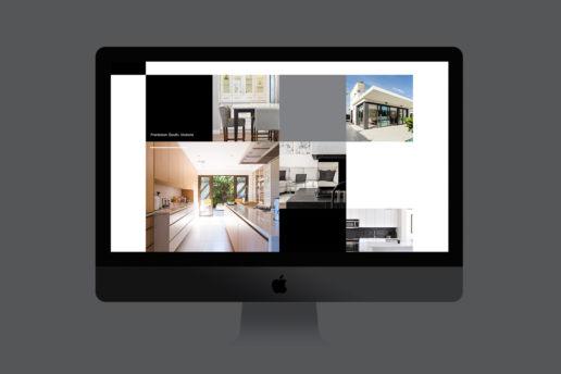Modern architect website design contemporary