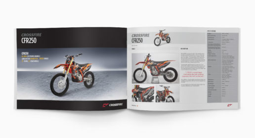 Motorcycle Brochure Design