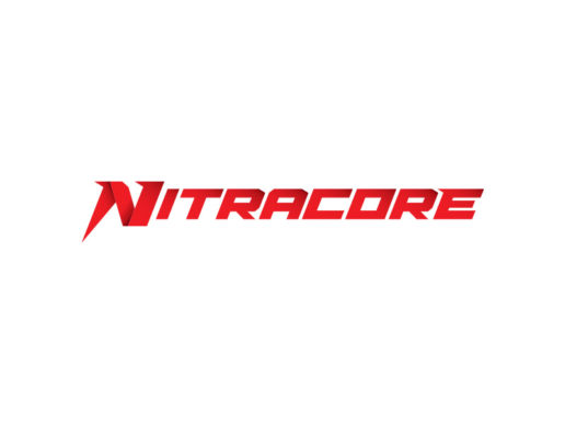 nitracore-sports-supplement-dietary-logo-design