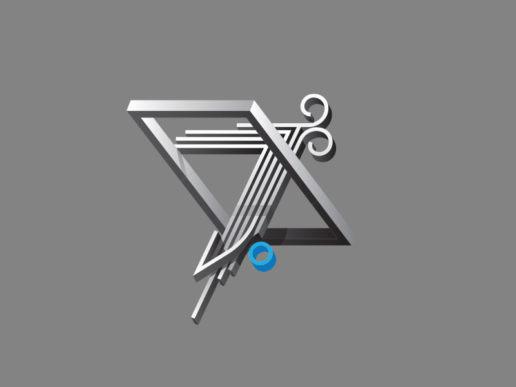 7 seven type design isometric