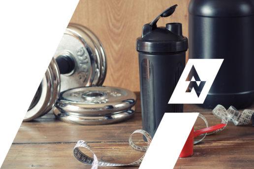 Nutrition Supplement Protein Logo Design